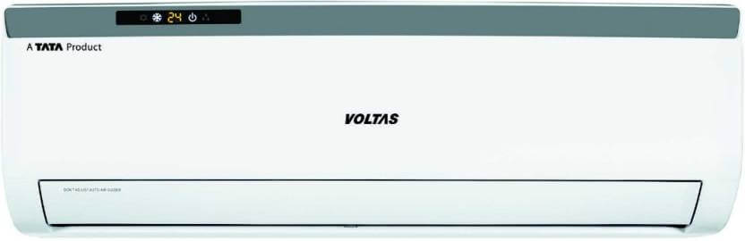Voltas 1 Ton 3 Star Split AC - White  (123CZA, Copper Condenser)